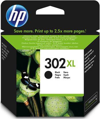 Hewlett cartucho tinta hp 302xl negro f6u68ae