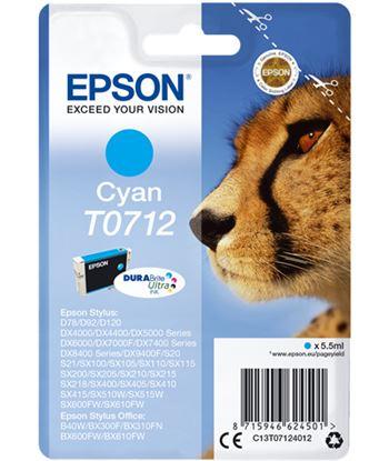 Tinta cian Epson ''712'' EPSC13T07124012 Perifericos y accesorios