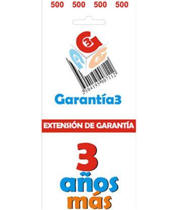 Para productos hasta 500eur. extensión de garantía de tres años adicionales - 8033509880318