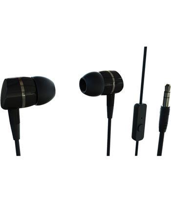 Auricular boton 38009 Vivanco negro