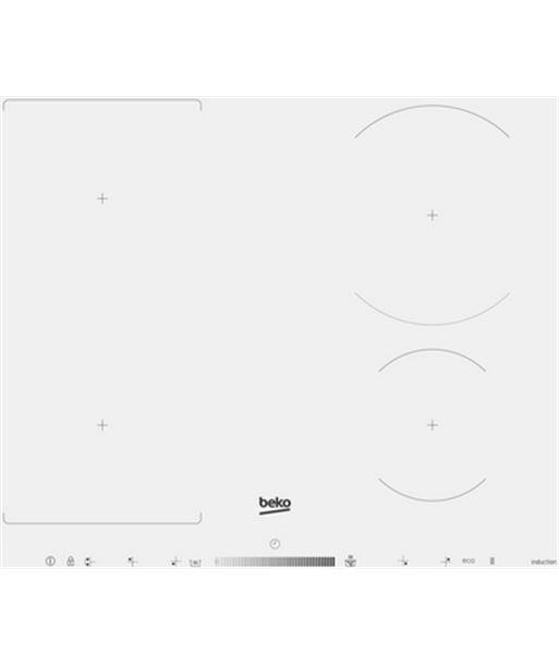 Encimera inducción Beko hii64500fhtw - HII64500FHTW