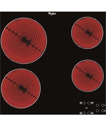 Vitroceramica independiente  Whirlpool AKT8090NE, 4 fuegos