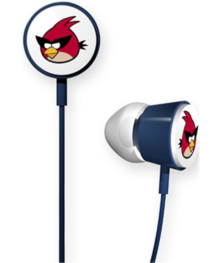 Nuevoelectro.com auricular boton angry birds deluxe violeta 112540 - 112540