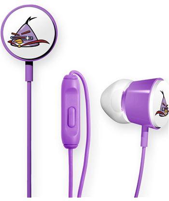 Nuevoelectro.com auricular boton angry birds deluxe violeta 112539