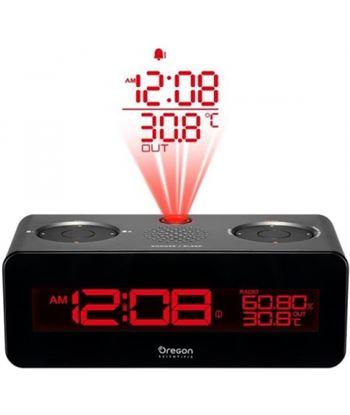 Oroley radio reloj oregon rra320pnx proyector gris