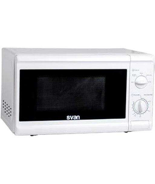 Microondas Svan SVMW700, 700w, sin grill, blanco - SVAN HORNO MICROONDAS SVMW700