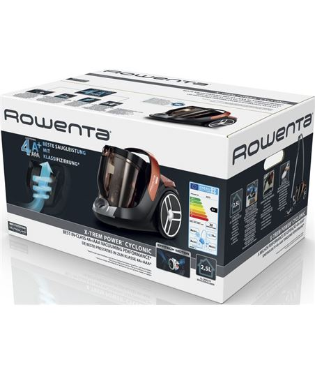 Aspirador trineo Rowenta x-trem power cyclonic car pro sin bolsa RO7244EA - 65111830_9959022923