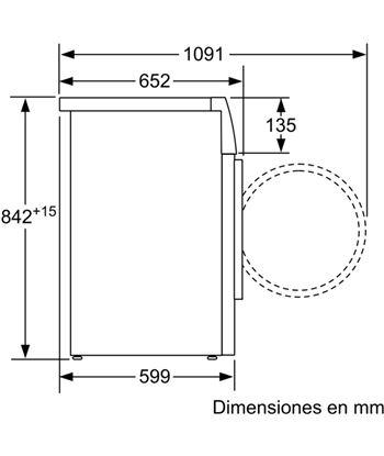 Bosch, wtw87641es, secadora, bomba de calor, a+++, libre instalación, 60 cm - 70355473_4552148835