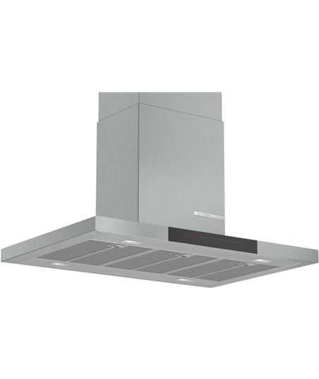 Bosch, dib98jq50, campana, isla box slim, a+, encastrable, 90 cm, 867 m3/h,