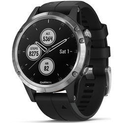 Reloj deportivo Garmin fenix 5 plus negro/plata GAR010_01988_11