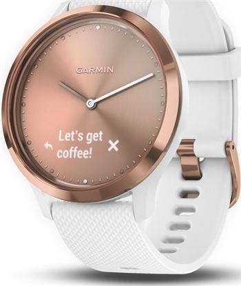Reloj deportivo Garmin vivomove hr sport rosa oro correa blanca (s/m) 010-01850-02