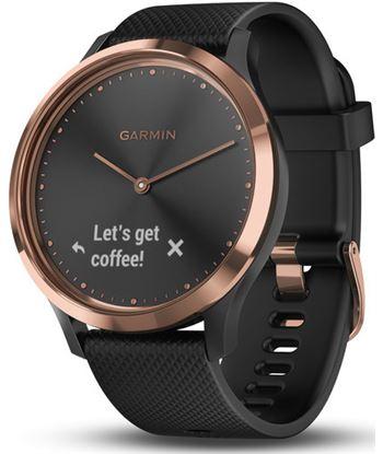 Reloj deportivo Garmin vivomove hr sport rosa oro correa negra (s/m) 010-01850-06