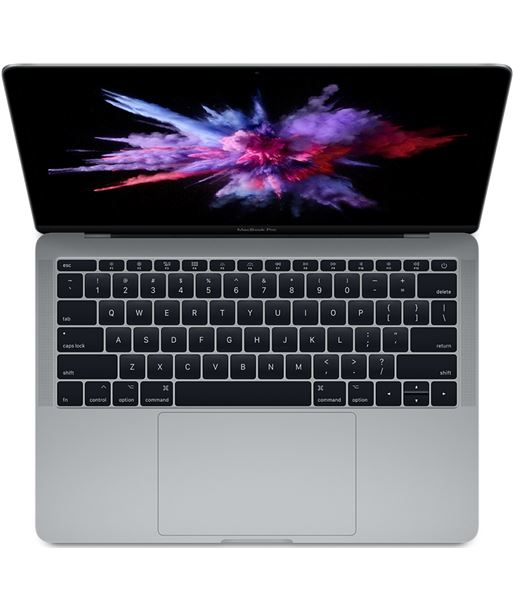 Ordenador Apple macbook pro 13'' core i5 2.3ghz 8gb 128gb space grey MPXQ2Y/A - MPXQ2YA
