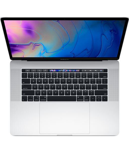 Ordenador portatil Apple macbook pro 15'' core i7 16gb 256gb ssd silver MR962Y/A - MR962YA