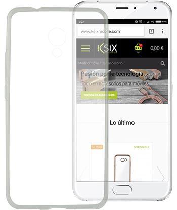 Funda flex Ksix tpu meizu m5s transparente 8427542084084 - 8427542084084