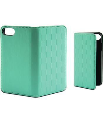 Funda folio soft Ksix para iphone 7 plus verde tur B0936FU85T - B0936FU85T