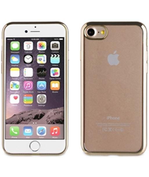 Nuevoelectro.com funda tpu muvit marco dorado bling iphone 7 mlbkc0082 - MLBKC0082