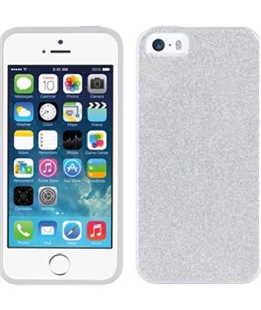 Nuevoelectro.com funda tpu muvit plata bling glitter iphone 5s/se mlbkc0042 - MLBKC0042