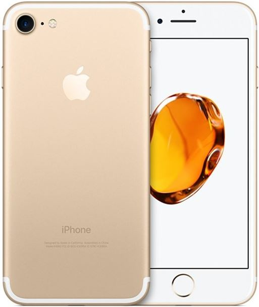 Apple movil iphone 7 gold 128gb-ypt reacondicionado 403202 - 403202