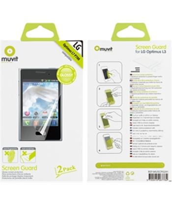 Nuevoelectro.com set dos protectores pantalla brillo antihuellas lg muscp0291 - 3700615067784