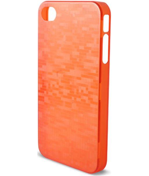 Carcasa Ksix icube para iphone 4, 4s rojo B0917CAR92 - B0917CAR92
