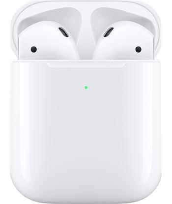 Auriculares Apple airpods blanco con estuche de carga inalambrica MRXJ2TY/A