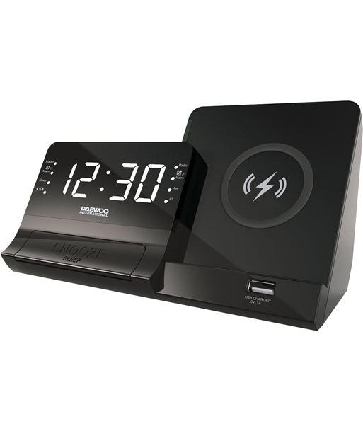 Daewo radio reloj despertador daweoo dcr-300 carga inalámbr.+usb dbf273 - 8413240605485