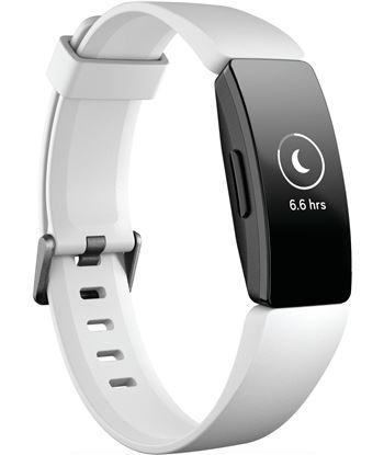 Fitbit inspire hr negra pulsera de actividad con pantalla oled táctil y cor FB413BKWT INSPI