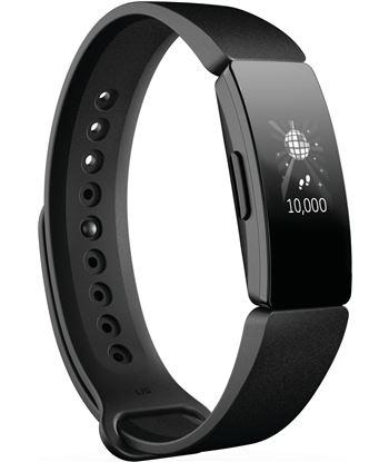 Fitbit inspire negra pulsera de actividad con pantalla oled táctil y correa FB412BKBK INSPI