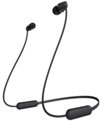 Sony wi-c200 negro auriculares inalámbricos de botón in-ear bluetooth WI-C200 BLACK