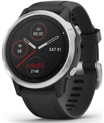 Garmin FÉNIX 6S PLATA negro con correa negra 42mm smartwatch premium multid