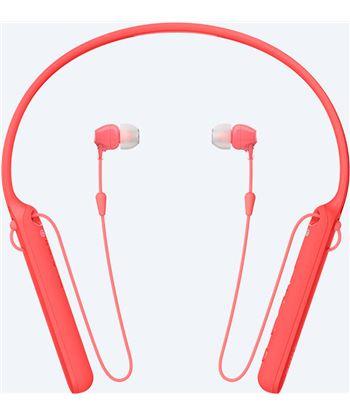Sony wi-c400r rojo auriculares inalámbricos con nfc y bluetooth WIC400R.CE7