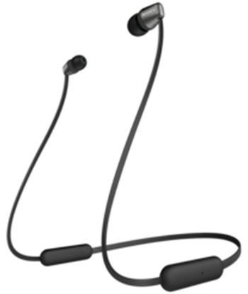 Sony wi-c310 negro auriculares inalámbricos de botón in-ear bluetooth WI-C310 BLACK
