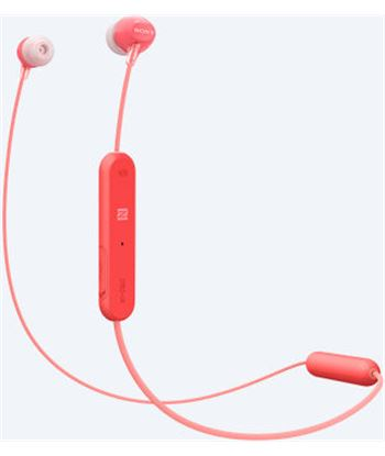 Sony WI-C300 ROJO auriculares inalámbricos bluetooth nfc micrófono integrad