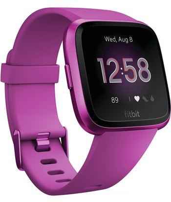 Fitbit versa lite lila aluminio smartwatch reloj deportivo con pantalla tác FB415PMPM VERSA