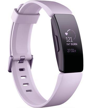 Fitbit inspire hr lila pulsera de actividad con pantalla oled táctil y corr FB413LVLV INSPI
