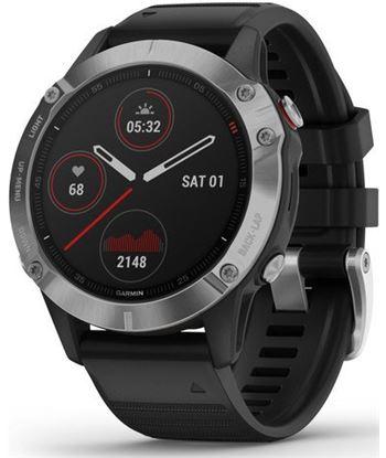 Garmin FÉNIX 6 PLATA Negro con correa negra 47mm smartwatch premium multide