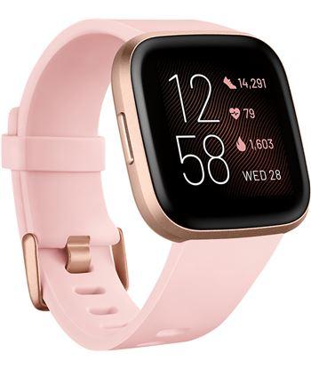Fitbit FB507RGPK VERSA 2 rosaire acondicionado luminio smartwatch reloj de salud y forma fí