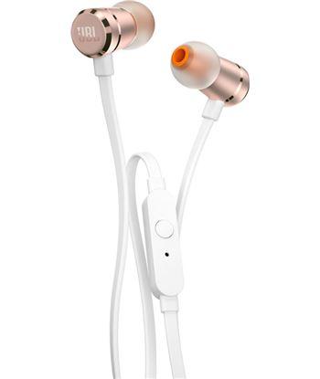 Jbl tune 290 oro rosa auriculares de botón con micrófono integrado T290 GOLD ROSE