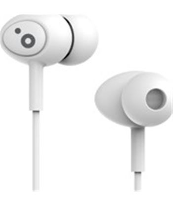 Auriculares boton Sunstech pops microfono blanco POPSWT