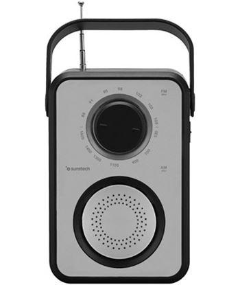 Radio portatil Sunstech RPR1170SL usb silver/negra