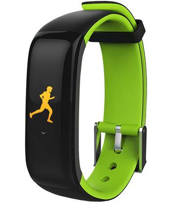 Brigmton bsport-15 verde pulsera de actividad con pantalla oled color tácti BSPORT-15-V