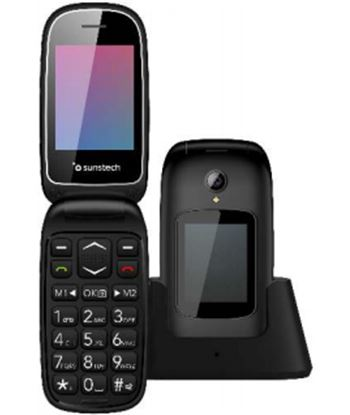 Movil Sunstech celt22 2.4'' compacto bluetooth sos negro CELT22BK - CELT22BK