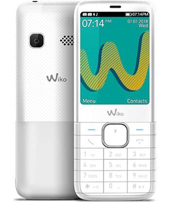 Wiko riff3 plus blanco m?vil senior dual sim 2.4'' c?mara vga bluetooth rad RIFF3 PLUS WHIT