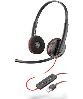 Nuevoelectro.com auriculares plantronics blackwire c3200 - binaural - micrófono con cancelac 209745-101