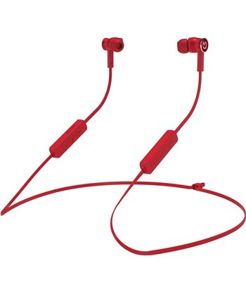 Auriculares intrauditivos bluetooth hiditec aken red - dRivers 10mm - ipx5 INT010000