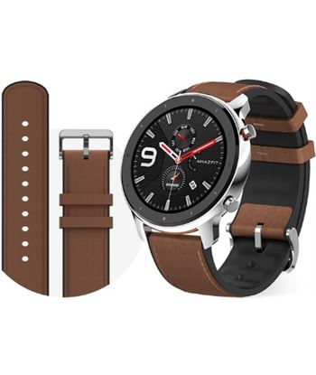 Xiaomi amazfit gtr smartwatch stainless steel 1.39'' 47.2mm amoled gps blue GTR 47MM STA ST