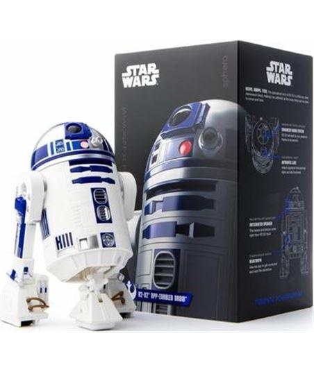 Nuevoelectro.com robot electrónico sphero star wars r2-d2 - leds frontales y traseros - bt - r201row - SPH-SW R2D2
