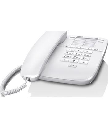 Siemens 10037087 teléfono analógico da310 blanco - 10 teclas marca rap. - 4 teclas marca dir - SIEM GIGA DA310 BL