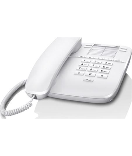 Siemens teléfono analógico da310 blanco - 10 teclas marca rap. - 4 teclas marca dir 10037087 - SIEM GIGA DA310 BL